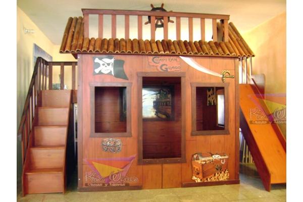 Camas y literas kids world muebles infantiles y for Recamaras infantiles queretaro