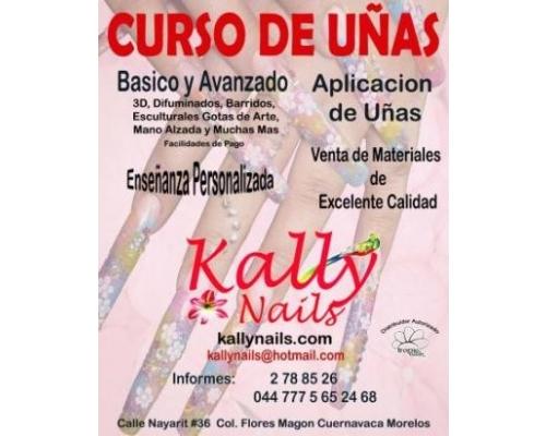 Uñas de Acrilico - Kally Nails | Salones de Belleza en Cuernavaca