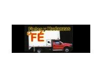 logo FLETES  Y MUDANZAS LA FE
