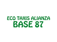 logo ECO TAXIS ALIANZA BASE 87