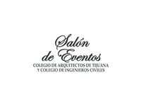 logo SALON DE EVENTOS  COLEGIO DE ARQUITECTOS DE TIJUANA Y COLEGIO DE INGENIEROS CIVILES