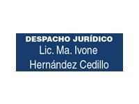 logo DESPACHO JURIDICO LIC MA IVONE HERNANDEZ CEDILLO