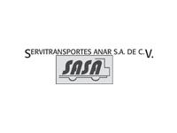 logo SERVITRANSPORTES ANAR SA DE CV