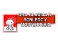DRA. CLAUDIA BERENICE ROBLEDO Y MONTERRUBIO