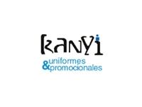 logo KANYI  UNIFORMES   PROMOCIONALES