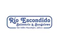 logo BALNEARIO Y BUNGALOWS RIO ESCONDIDO