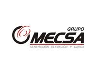 logo MECSA MAQUINARIA DE ELEVACION Y CARGA