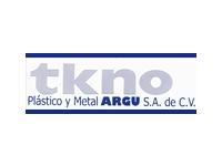 logo TKNO PLASTICO Y METAL ARGU