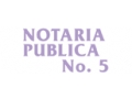 NOTARIA PUBLICA NO 5