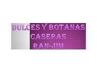logo DULCES Y BOTANAS CASERAS RAN-JIM