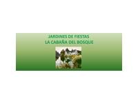 logo JARDINES DE FIESTAS LA CABANA DEL BOSQUE
