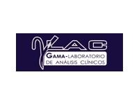 logo GAMA-LABORATORIO DE ANALISIS CLINICOS